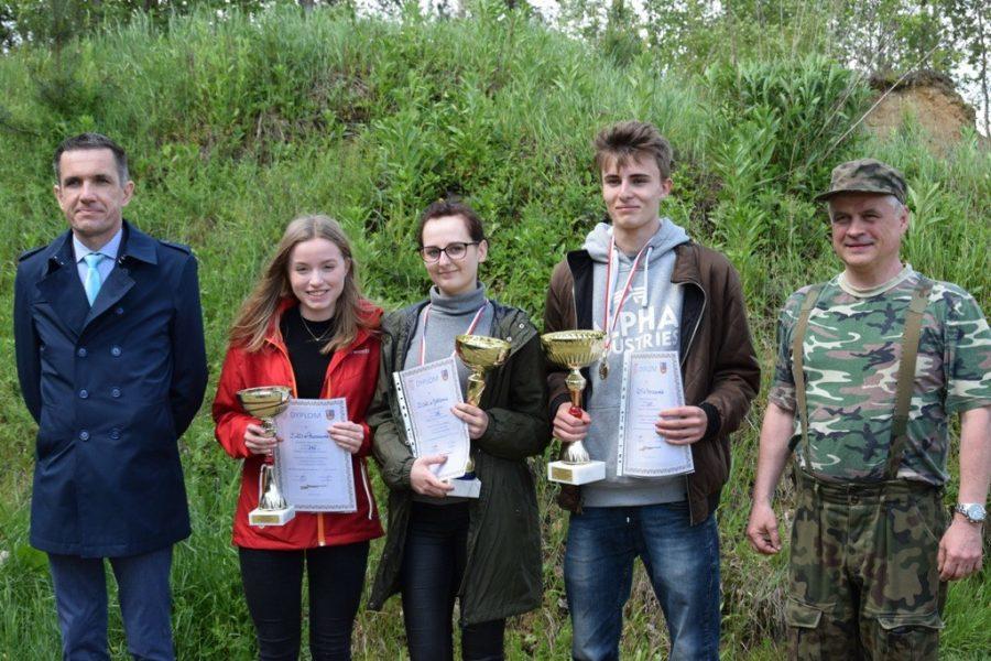 Powiatowe Mistrzostwa młodzieży w Strzelaniu z Broni Kulowej o Puchar Starosty Parczewskiego